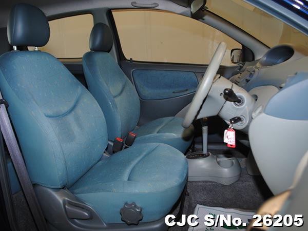 Toyota Vitz Interior view