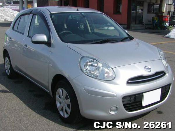 Import Japanese Used Nissan March