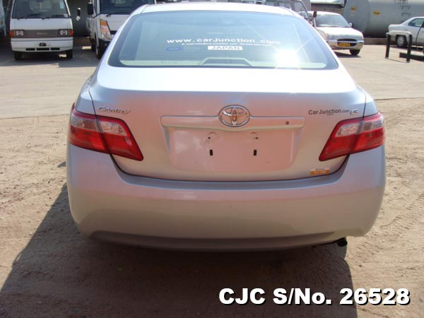 2006 toyota camry silver for sale stock no 26528 japanese used cars exporter. Black Bedroom Furniture Sets. Home Design Ideas