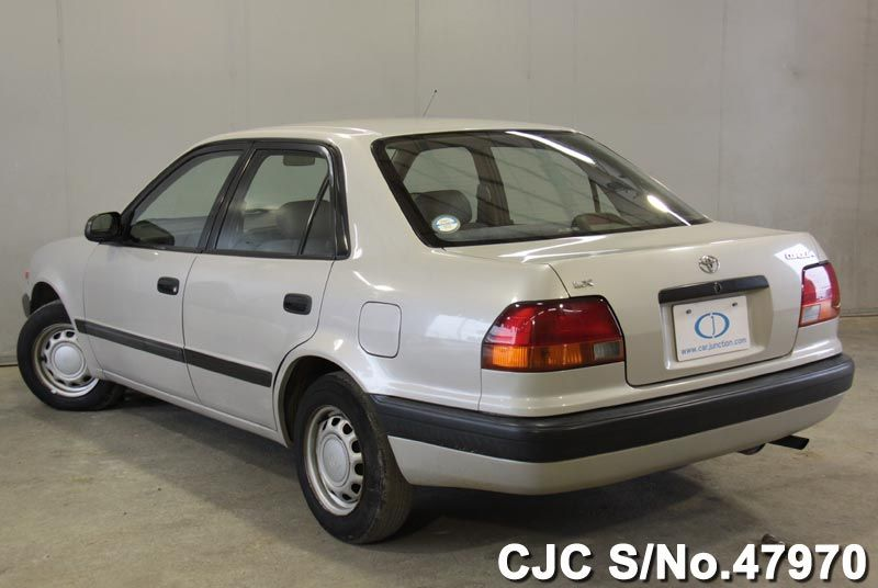 1996 toyota corolla pearl for sale stock no 47970 japanese used cars exporter. Black Bedroom Furniture Sets. Home Design Ideas