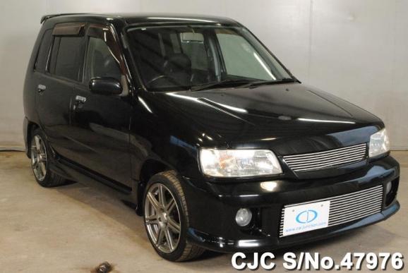 2000 nissan cube black for sale stock no 47976 japanese used cars exporter. Black Bedroom Furniture Sets. Home Design Ideas