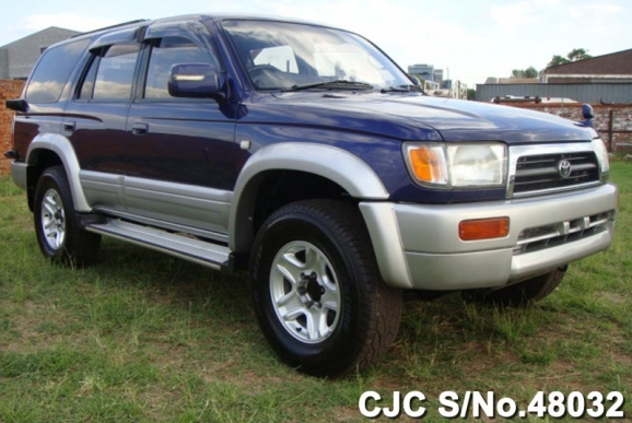 1996 toyota hilux surf 4runner blue 2 tone for sale. Black Bedroom Furniture Sets. Home Design Ideas