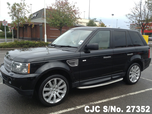 2006 land rover range rover black for sale stock no 27352 japanese used cars exporter. Black Bedroom Furniture Sets. Home Design Ideas