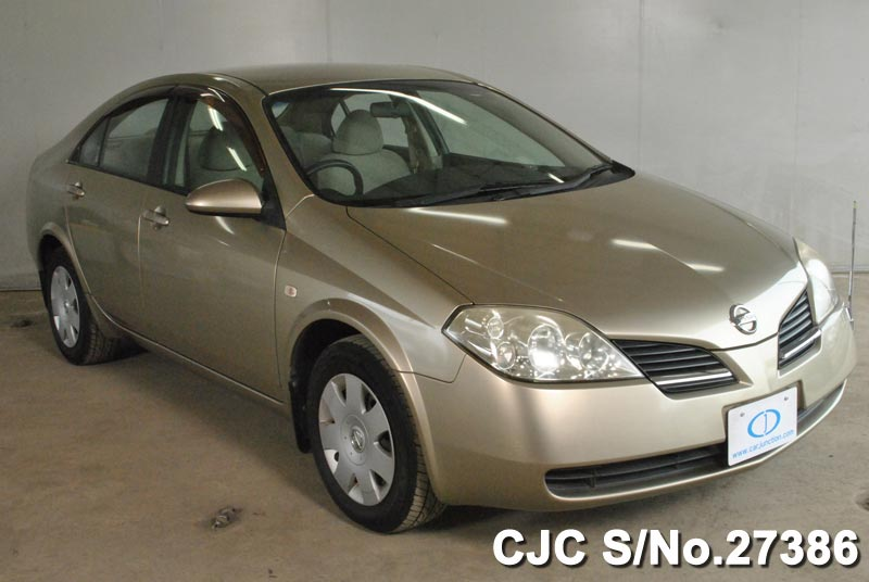 2003 Nissan Primera Gold for sale | Stock No. 27386 | Japanese Used ...