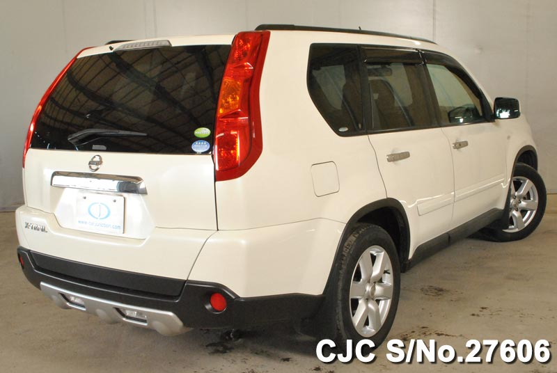 2008 Nissan X-Trail Pearl for sale | Stock No. 27606 | Japanese Used ...