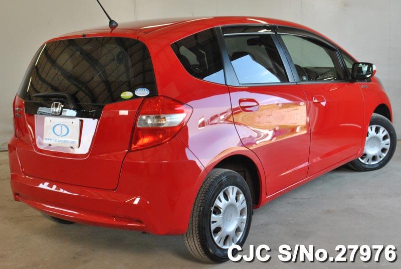 2012 honda fit jazz red for sale stock no 27976 japanese used cars exporter. Black Bedroom Furniture Sets. Home Design Ideas