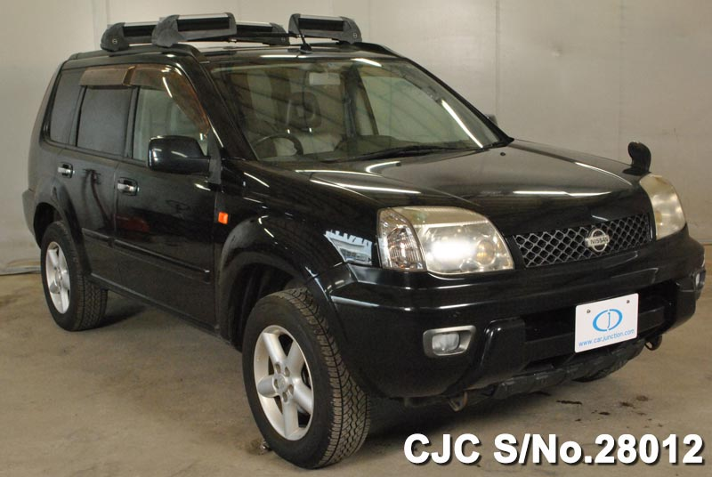 nissan x trail 2001 black