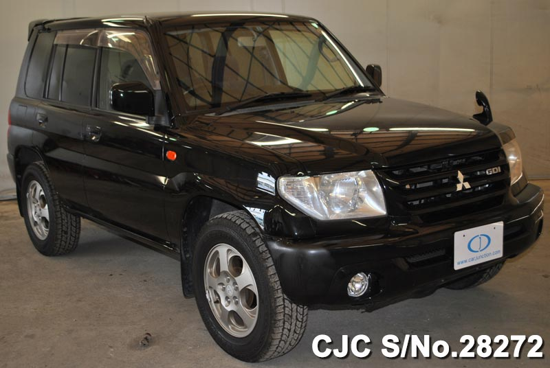 2002 mitsubishi pajero io black for sale stock no 28272 rh carjunction com Mitsubishi Pajero I O 2000 Pajero I O 2003
