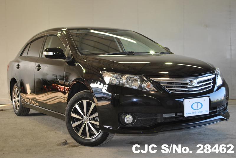 Black Toyota Allion for Diplomats
