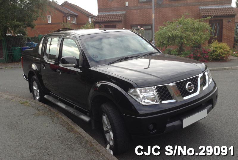 Black Nissan Navara for Tanzania