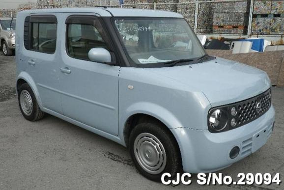 2005 nissan cube blue for sale stock no 29094 japanese used cars exporter. Black Bedroom Furniture Sets. Home Design Ideas