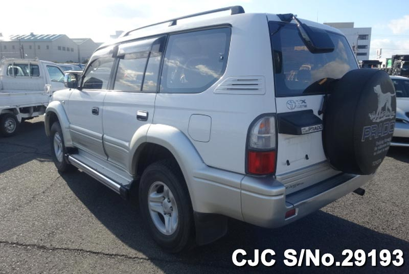 1999 model Land Cruiser Prado for Tanzania