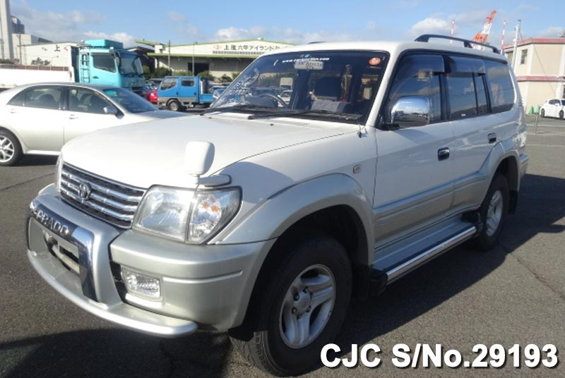 White Land Cruiser Prado for Sale