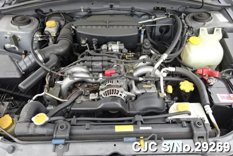 Subaru Forester Engine View