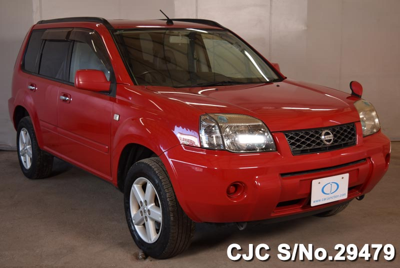 2003 nissan x trail red for sale stock no 29479 japanese used cars exporter. Black Bedroom Furniture Sets. Home Design Ideas