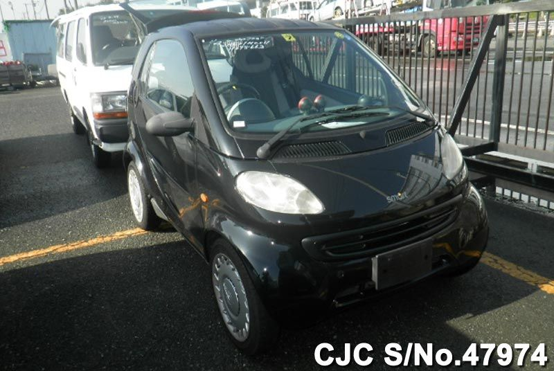 2002 mercedes benz smart car black for sale stock no for Mercedes benz smart car for sale