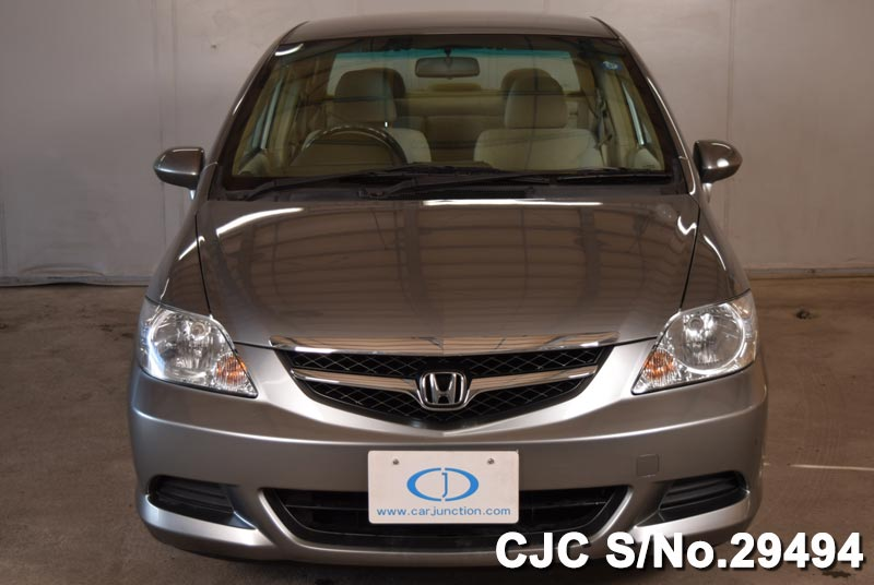 2005 honda fit aria gray for sale stock no 29494 japanese used cars exporter. Black Bedroom Furniture Sets. Home Design Ideas