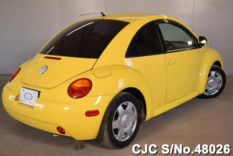 2003 volkswagen beetle yellow for sale stock no 48026. Black Bedroom Furniture Sets. Home Design Ideas
