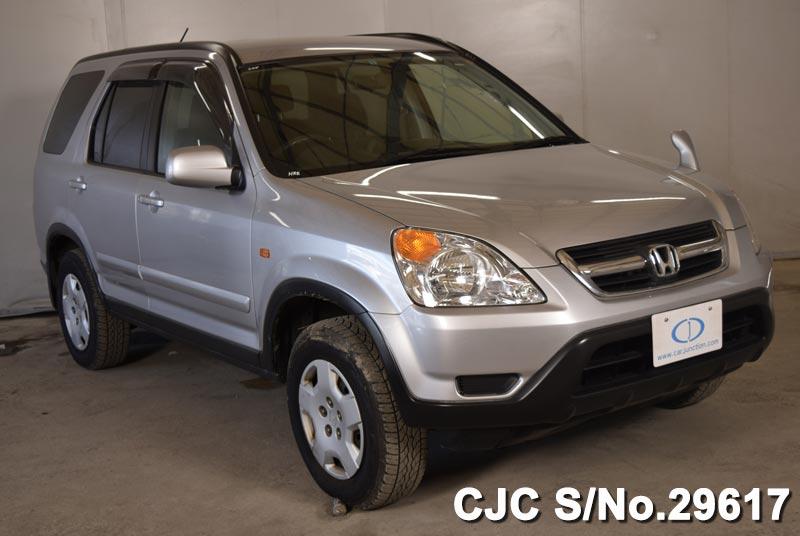 honda crv silver  sale stock   japanese  cars exporter