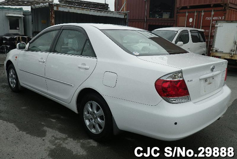 2005 toyota camry white for sale stock no 29888 japanese used cars exporter. Black Bedroom Furniture Sets. Home Design Ideas
