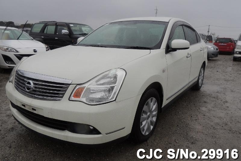 2010 Nissan Bluebird Sylphy Pearl For Sale Stock No