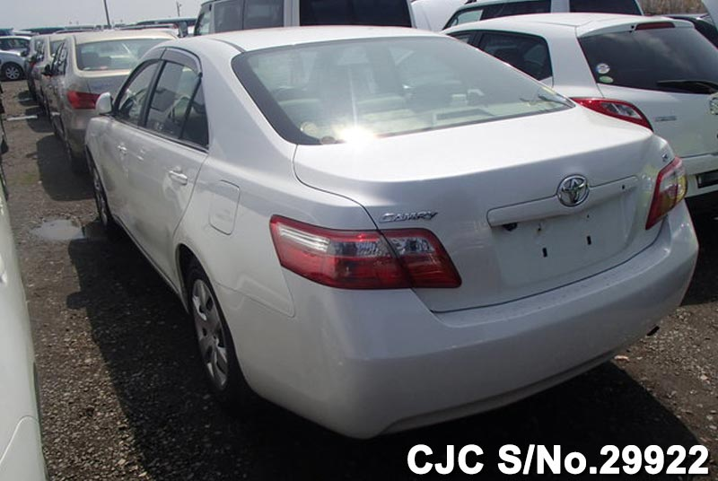 2006 toyota camry pearl for sale stock no 29922 japanese used cars exporter. Black Bedroom Furniture Sets. Home Design Ideas