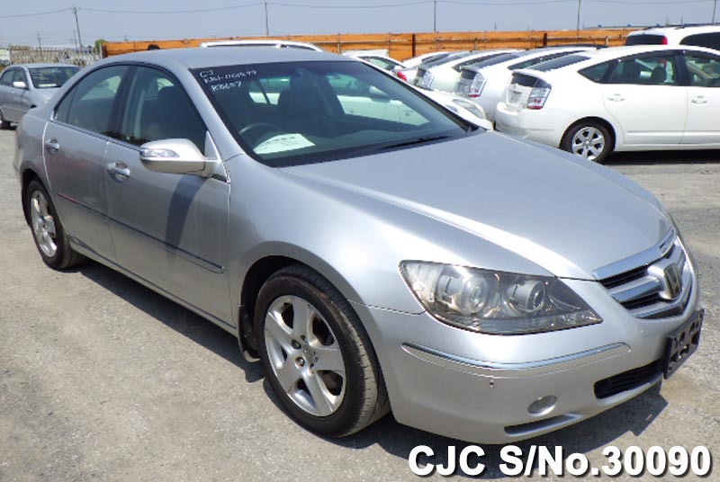 2006 Honda Legend Silver For Sale Stock No 30090 Japanese Used
