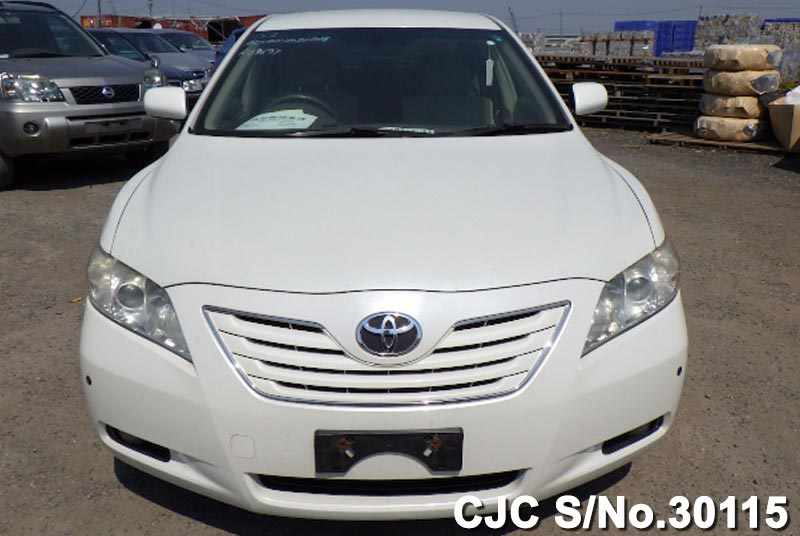 2006 toyota camry white for sale stock no 30115. Black Bedroom Furniture Sets. Home Design Ideas