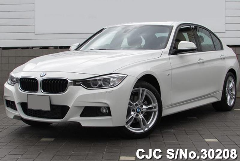 2014 bmw 3 series white for sale stock no 30208 japanese used cars exporter. Black Bedroom Furniture Sets. Home Design Ideas