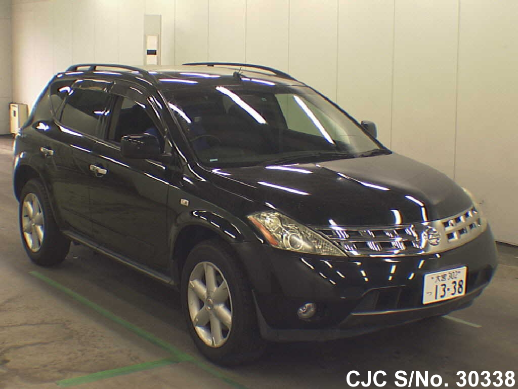 2004 nissan murano black for sale stock no 30338 japanese used cars exporter. Black Bedroom Furniture Sets. Home Design Ideas