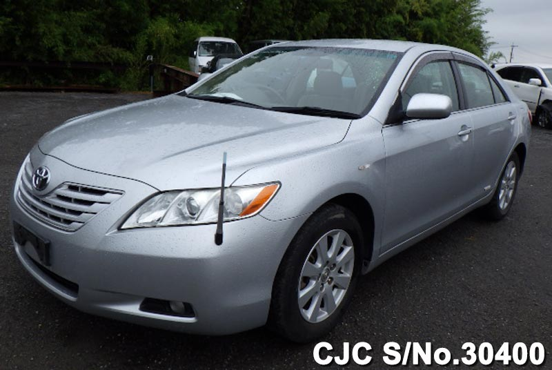 2006 toyota camry silver for sale stock no 30400 japanese used cars exporter. Black Bedroom Furniture Sets. Home Design Ideas