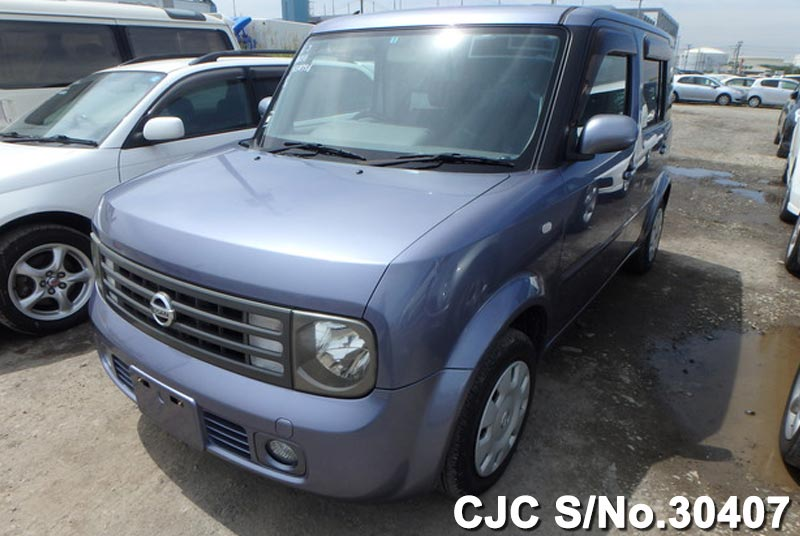 2005 nissan cube gray for sale stock no 30407 japanese used cars exporter. Black Bedroom Furniture Sets. Home Design Ideas
