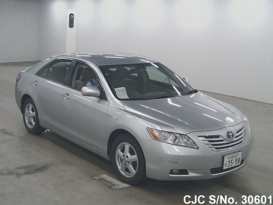 2006 toyota camry silver for sale stock no 30601 japanese used cars exporter. Black Bedroom Furniture Sets. Home Design Ideas