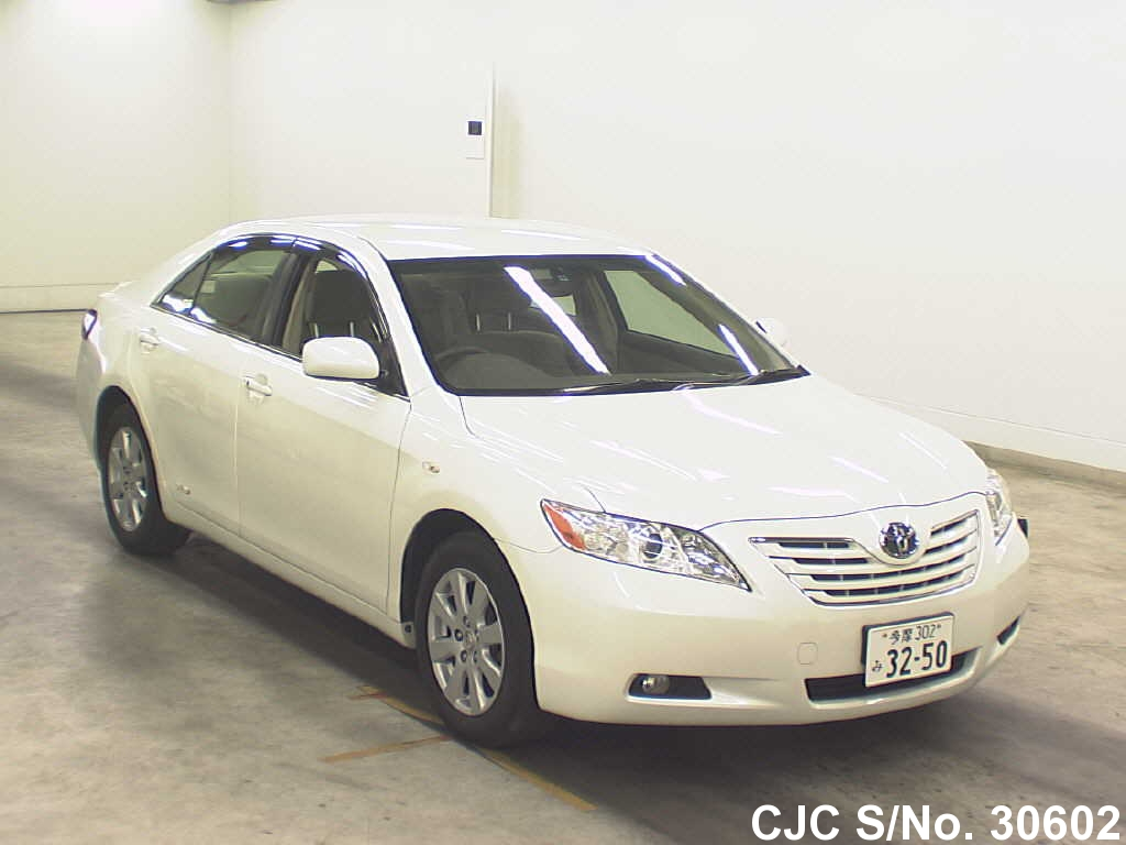 2006 toyota camry pearl for sale stock no 30602 japanese used cars exporter. Black Bedroom Furniture Sets. Home Design Ideas