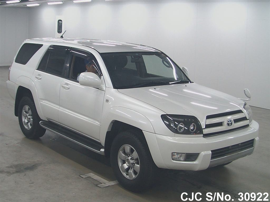 2003 toyota hilux surf 4runner pearl for sale stock no 30922 japanese used cars exporter. Black Bedroom Furniture Sets. Home Design Ideas