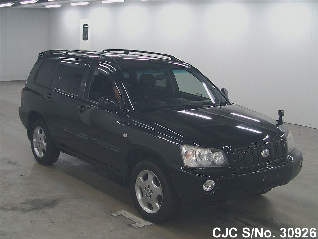 2002 toyota kluger black for sale stock no 30926