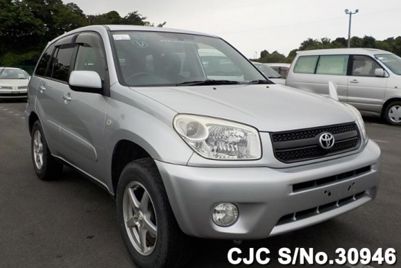 2005 toyota rav4 silver for sale stock no 30946 japanese used cars exporter. Black Bedroom Furniture Sets. Home Design Ideas