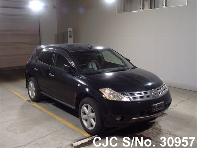 2004 Nissan Murano Black For Sale Stock No 30957 Japanese Used