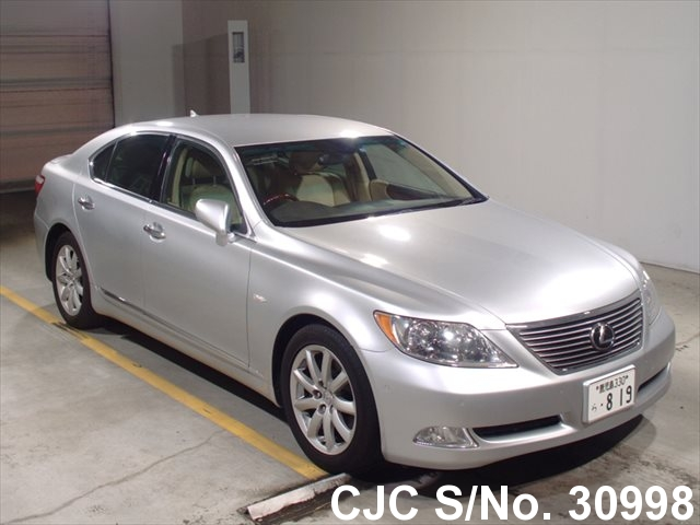 2007 lexus ls 460 silver for sale stock no 30998 japanese used cars exporter. Black Bedroom Furniture Sets. Home Design Ideas
