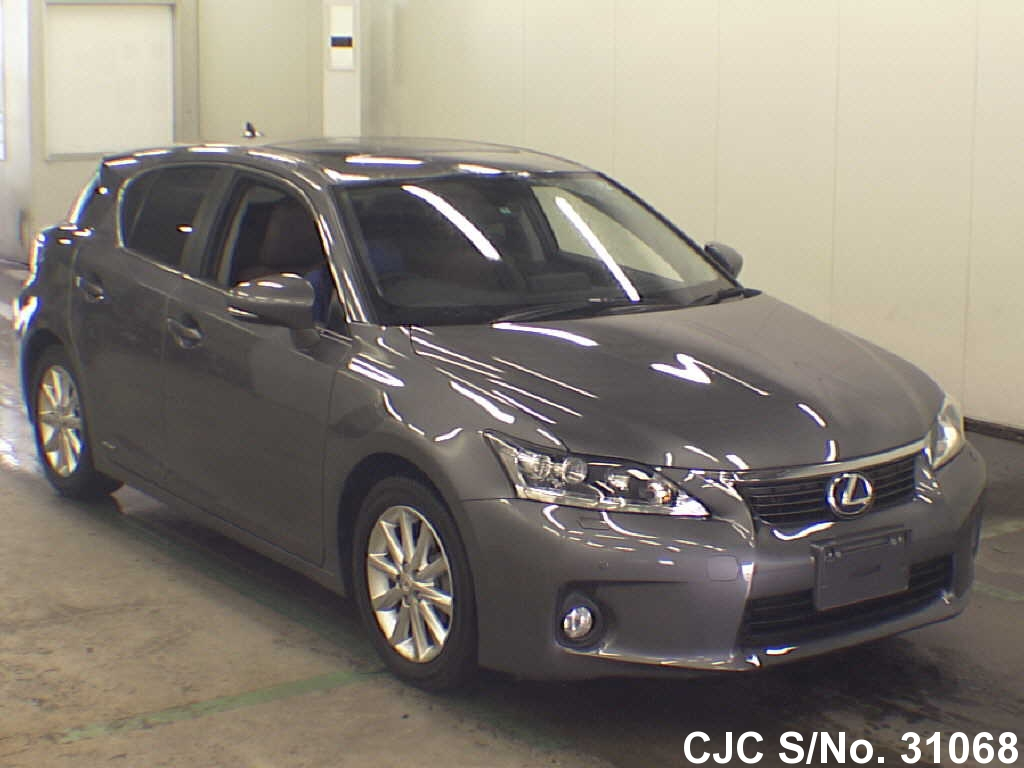 2012 lexus ct200h gray for sale stock no 31068 japanese used cars exporter. Black Bedroom Furniture Sets. Home Design Ideas