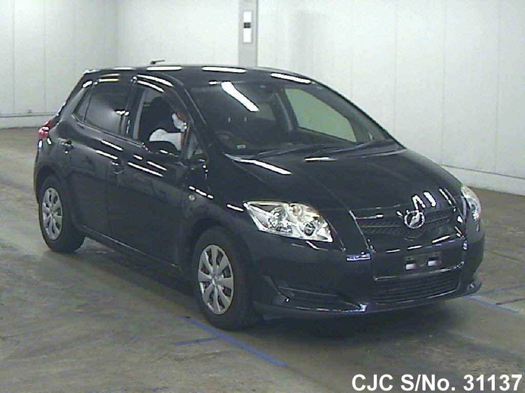 2007 toyota auris black for sale stock no 31137 japanese used cars exporter. Black Bedroom Furniture Sets. Home Design Ideas