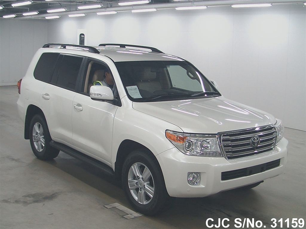 2012 toyota land cruiser white for sale stock no 31159 japanese used cars exporter. Black Bedroom Furniture Sets. Home Design Ideas