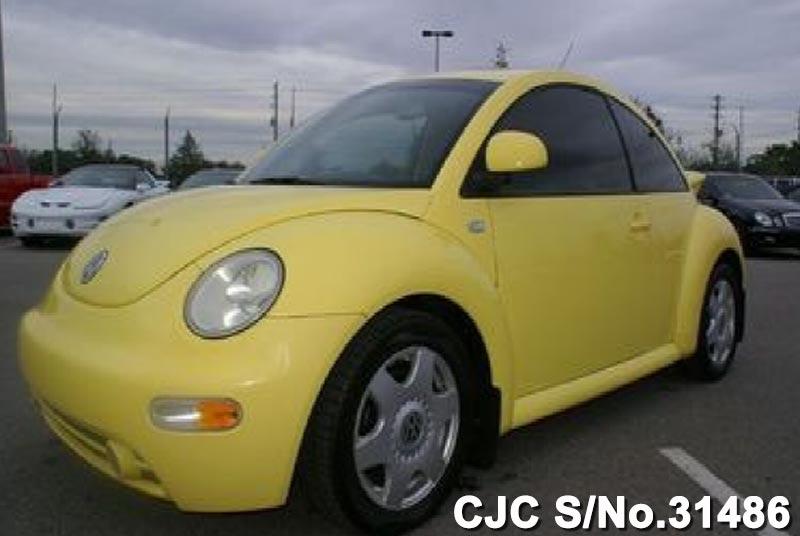 2000 left hand volkswagen beetle yellow for sale stock no 31486 left hand used cars exporter. Black Bedroom Furniture Sets. Home Design Ideas