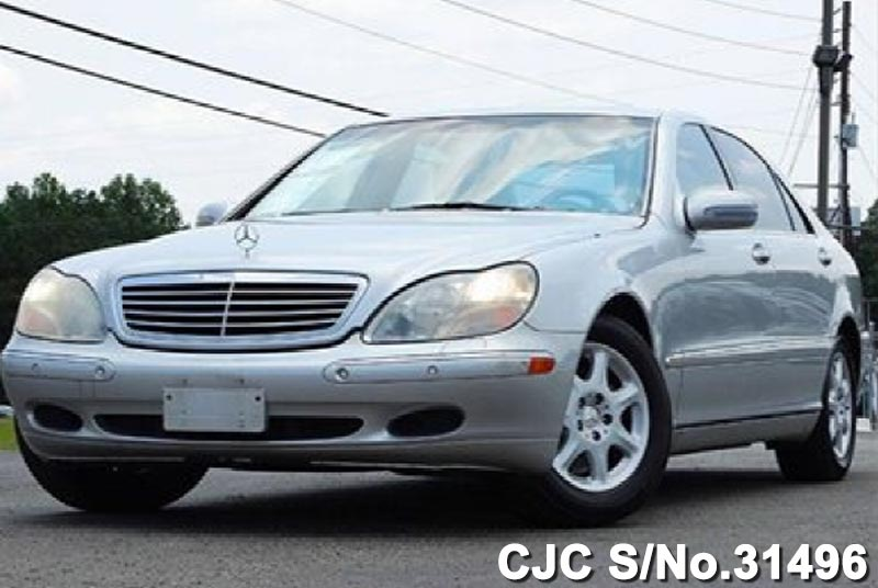 2000 left hand mercedes benz s class silver for sale for 2000 mercedes benz s class for sale