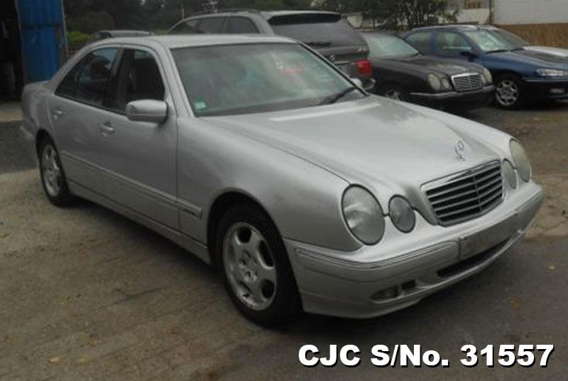 2000 left hand mercedes benz e class silver for sale for 2000 mercedes benz e class