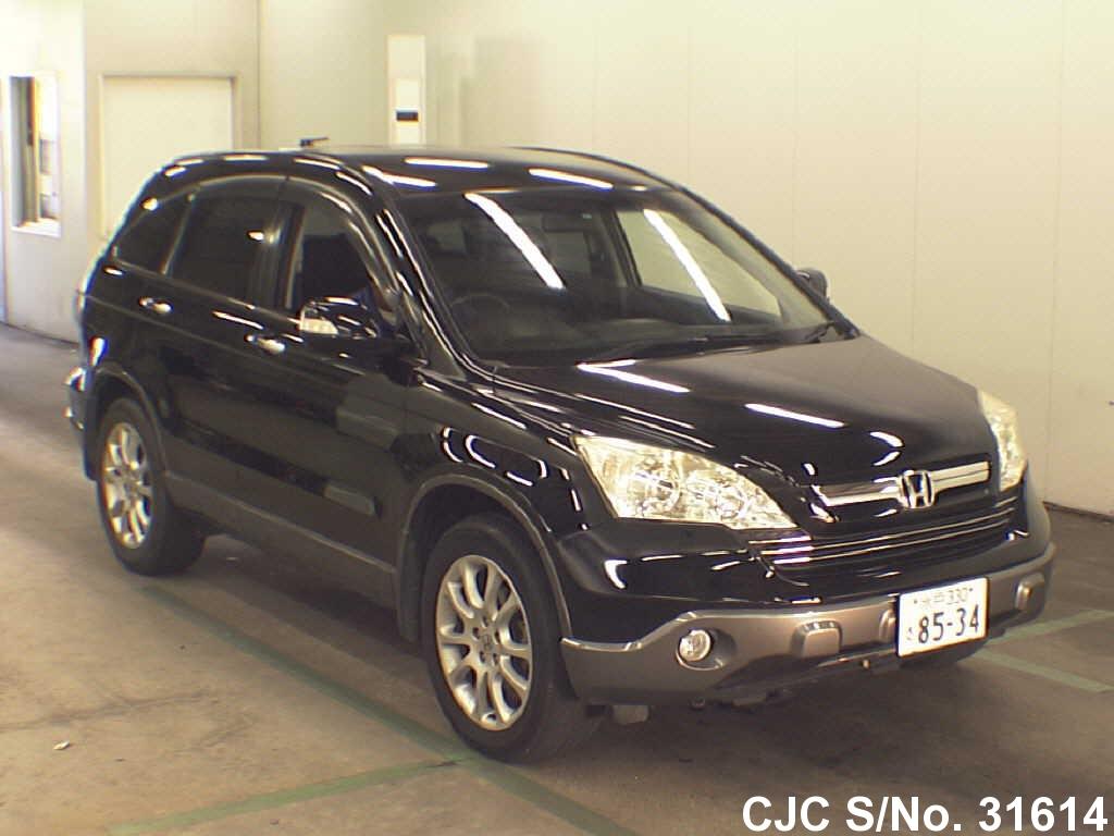 2006 honda crv black for sale stock no 31614 japanese used cars exporter. Black Bedroom Furniture Sets. Home Design Ideas