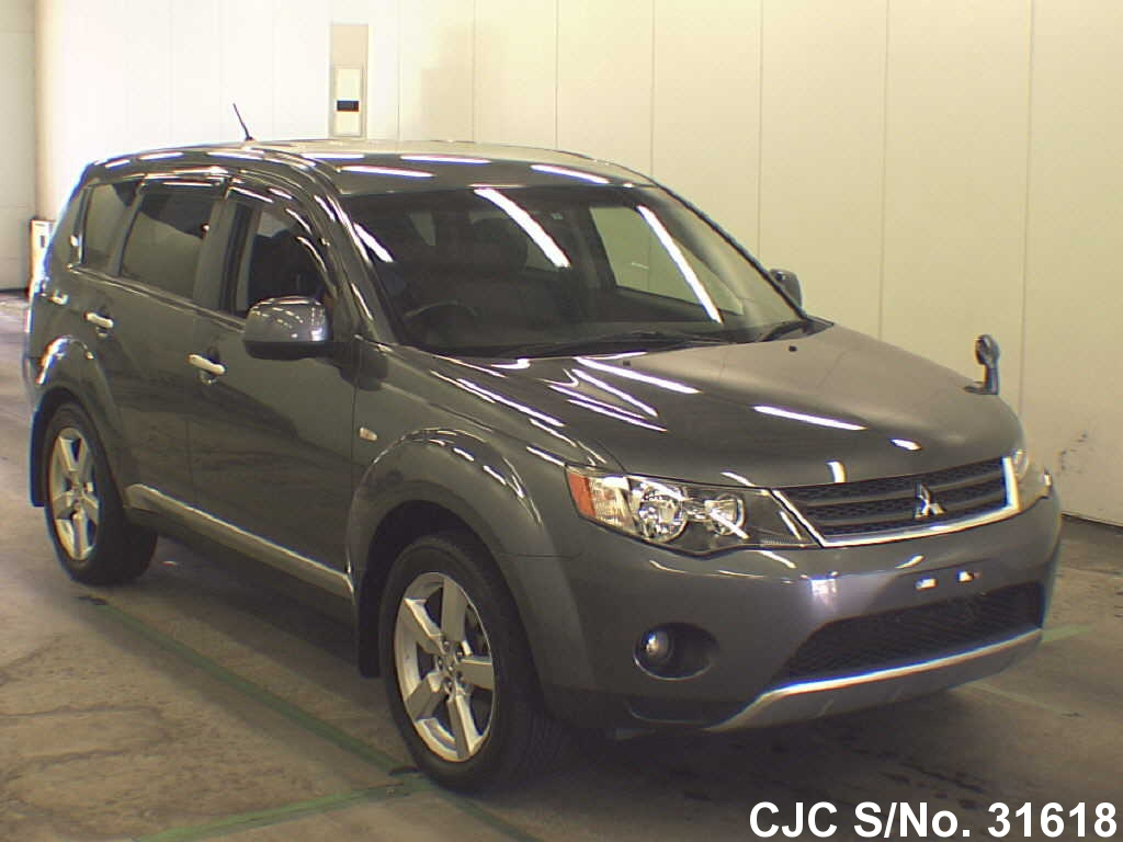 2006 mitsubishi outlander gray for sale stock no 31618. Black Bedroom Furniture Sets. Home Design Ideas
