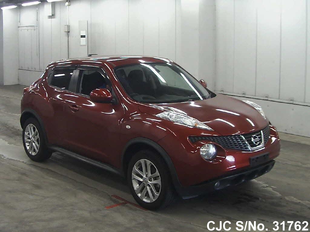 2010 nissan juke red for sale stock no 31762 japanese used cars exporter. Black Bedroom Furniture Sets. Home Design Ideas