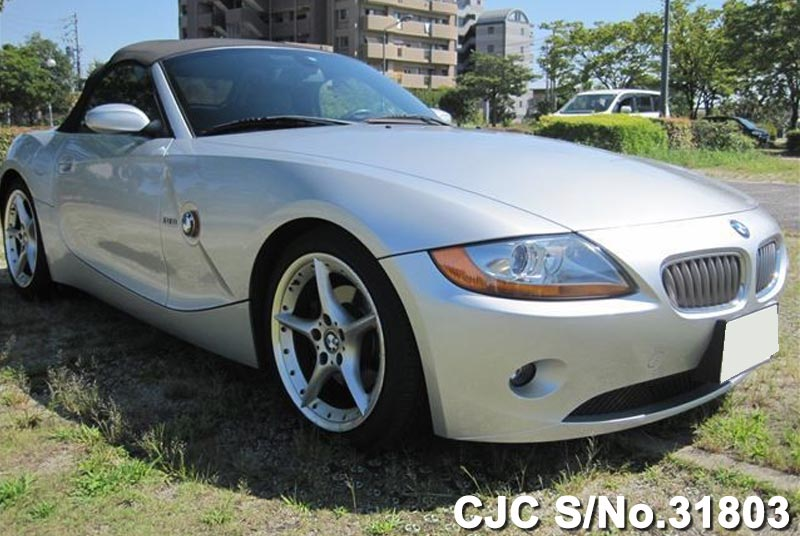 2004 Left Hand Bmw Z4 Silver For Sale Stock No 31803