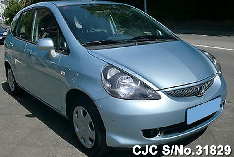 2006 Left Hand Honda Fit/Jazz Blue Metallic for sale | Stock No. 31829 | Left Hand Used Cars ...